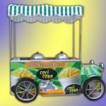 bardakta mısır arabası